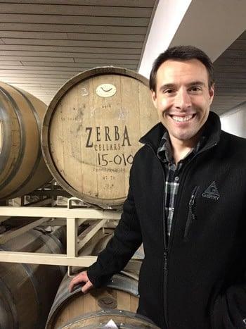 Zerba Wine Cellars Winemaker Brent Roberts