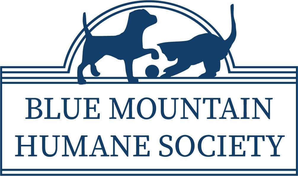 Blue Mountain Humane Society logo in use for fundraiser hosted by Zerba Wine Cellars
